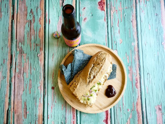Pub food friday | tuna melt | mannenliefde | bierliefde