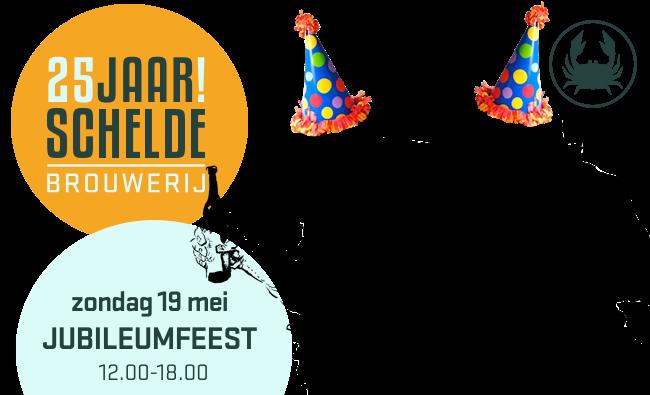 Schelde brouwerij 25 jaar